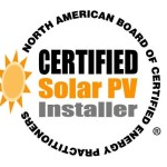 NABCEP CERTIFIED SOLAR CONTRACTOR