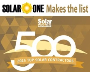 Solar Power World Ranks Florida Solar One a Top 400 Solar Installer