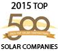 2015 Top 500 North American Solar Contractors