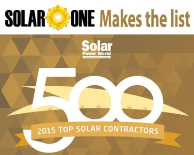 Florida Solar One a Top 500 Solar Installer