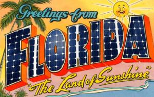 Florida solar sunshine state