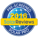 Florida Solar One is a PRE-SCREENED Solar Pro!