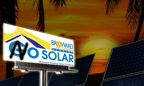 Sun Sets on The Broward Go Solar Program That Went Nowhere