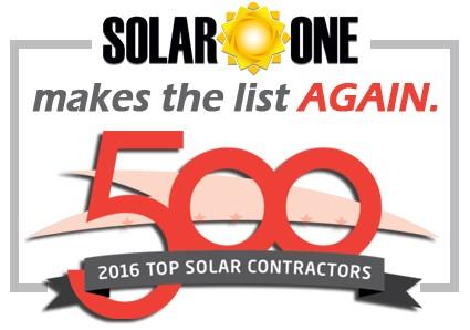 Florida Solar One Makes 2016 Solar Power World Top 500