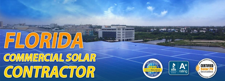 Florida Commercial Solar Contrator
