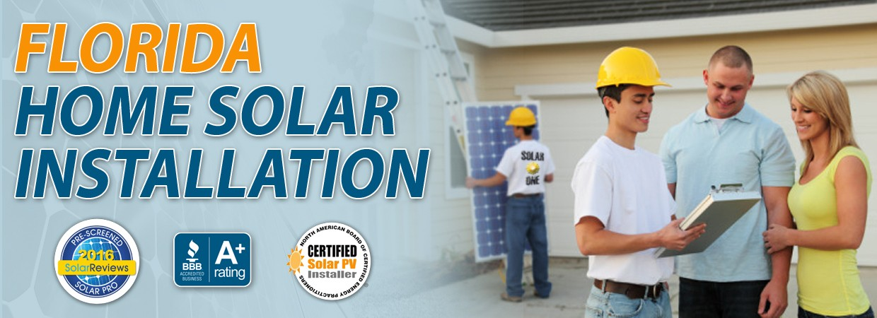 Florida Solar Home Installation