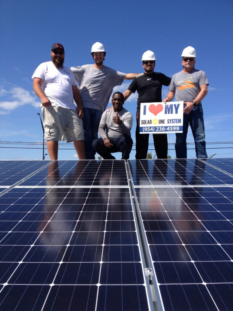 solar panel installation company