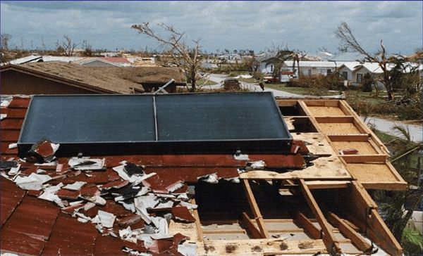 Hurricane Force Solar Systems in the Florida Keys